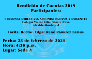 Rendición de Cuentas 2019