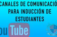 ACTIVIDADES DE INDUCCIÓN DE ESTUDIANTES POR JORNADAS ENERO 25 DE 2021