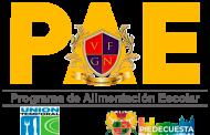 Sexta entrega de mercados del Programa de Alimentación Escolar-PAE Martes 10 de Agosto y Miércoles 11 de Agosto 2021