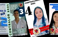 Candidatos a elección de Contraloría Estudiantil 2021