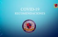 RECOMENDACIONES INSTITUCIONALES COVID-19